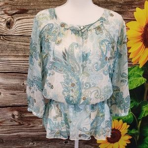 Alfred Dunner  paisley top